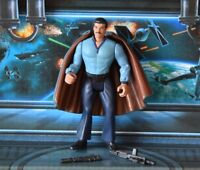 STAR WARS FIGURE 1995 POTF COLLECTION LANDO CALRISSIAN (BESPIN OUTFIT)
