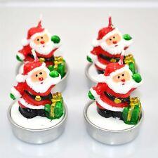 Novelty Decorative Santa Christmas Decorations Candles Xmas Home Decor Gift
