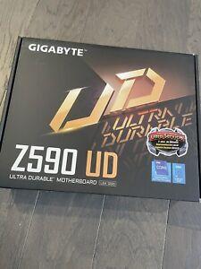 GIGABYTE Z590 UD LGA 1200, Intel ATX Motherboard - Brand New / Unopened