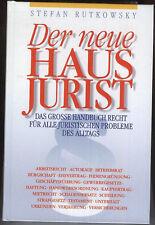 Der neue Haus Jurist   Grosses Handbuch Recht     1996