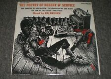 The Poetry of Robert W. Service~Read By Ed Begley~Caedmon TC 1218~FAST SHIPPING!