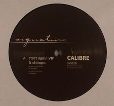 "CALIBRE & CHIMPO - Start Again VIP - Vinyl (12"") Signature"