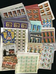 Guinea Africa Religion Sport Trains Art Royal Sheets MNH (Appx 900 Stamps)(Guxyz