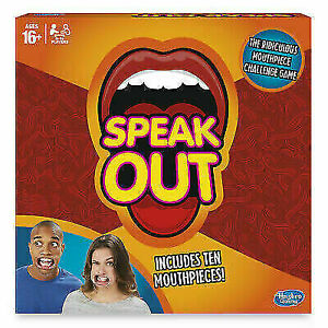 Hasbro Gaming Speak Out Game - Brand New & Sealed - Party