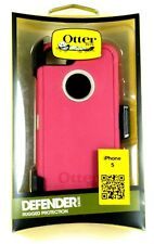 Otterbox iPhone 5 Defender Case/Belt Clip,Stone Grey/Peony Pink , Retail