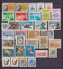s16986) ITALIEN MNH 1972 Komplett Year set 33v Jahrgang Vollständige