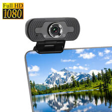 1920x1080P Full HD USB Webcam for PC Desktop & Laptop Web Camera with Microphone