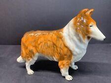 Vtg Royal Doulton Rough Collie Dog Figurine Rda 106 2005