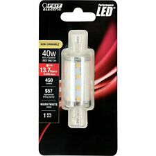 Feit Electric BPJ78/LED Non-Dimmable Bulb, 5W, 120V, 450 Lumens, Warm White, 7Pc