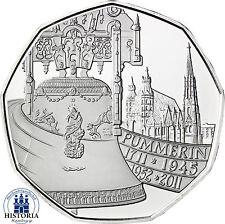 Österreich 5 Euro Silber 2011 Handgehoben: Pummerin die Glocke des Stephansdom