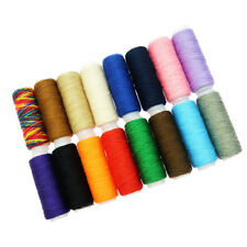 16 Pieces Assorted Colors Polyester Sewing Quilting Threads Set All Purpose