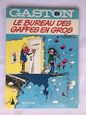 GASTON R2 LE BUREAU DES GAFFES EN GROS 1981 FRANQUIN BD  DUPUIS