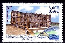 SELLOS FRANCIA 2001 3415 CASTILLO DE GRIGNAM (DROME) 1v.
