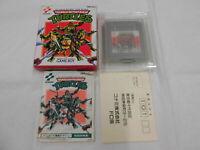 U1013 Nintendo Gameboy Teenage Mutant Ninja Turtles Japan GB w/box