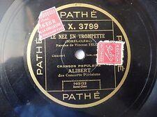 Alibert Le Nez En Trompette / Une Femme Dans Le Mouvement Pathe 3799 VG+