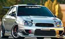Subaru Windshield Banner Decal Sticker impreza Lowered JDM wrx sti evo evolution