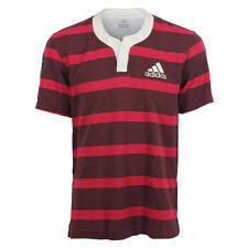 adidas Cotton Short Sleeve Rugby Activewear for Men
