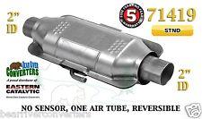 "71419 Eastern Universal Catalytic Converter Standard Catalyst 2"" Pipe 12"" Body"