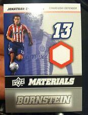 JONATHAN BORNSTEIN 2008 Upper Deck MLS Game Used JERSEY Card #MM-12 Chivas USA