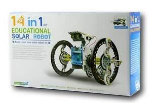 14 IN 1 EDUCATIONAL SOLAR ROBOTS