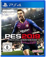 PES Pro Evolution Soccer 2019 inkl. Bonusinhalt PS4 (NEU & OVP) (Blitzversand)