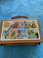 Vintage Goofy Disney Cook'd Comic Up Whirley Drink Works Pencil Box Lunch Box