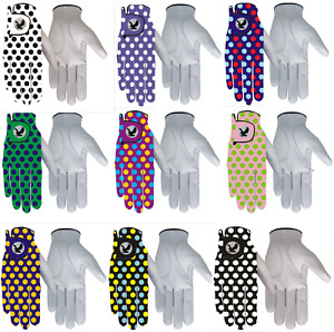 100% LEATHER or ALL WEATHER Golf Gloves MENS or LADIES Left or Right Hand
