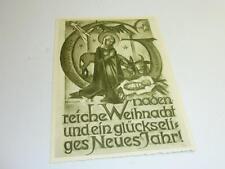 Alte Originale Hummel Karte Schwarz weiß gezackter Rand NR S 9 Müller unbesch.