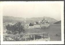 1956 BUDVA MONTENEGRO. Real Photo RPPC Postcard Harbor