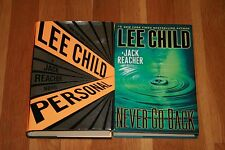Lot of 2 Lee Child Hardcover Personal & Never Go Back Jack Reacher FREE SHIPPING
