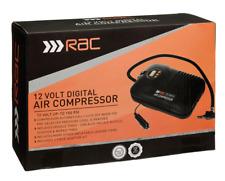 Car pump 12v RAC Digital fast Air Compressor motor bike pump tyre inflator
