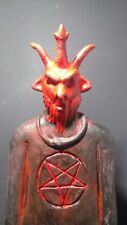 "The Devil Baphomet Statue,12""x8""x2"""