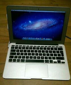 Apple Macbook Air 11.6-Inch Core 2 Duo 1.40GHz 2GB RAM 64GB SSD A1370 A**