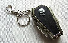Taschen Aschenbecher Skull black Zigaretten Ascher Totenkopf Skull Bones Schädel