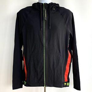 Nike Flex Jacket Mens New Sz Large Full Zip Training Dri-FIT Black BV3303-010
