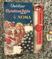 Vtg 3005 Strand String Noma C-9 Christmas Lights w/ Original Box TESTED No Bulbs