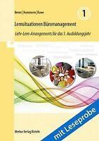 Lernsituationen Büromanagement: Lehr-Lern-Arrangements f... | Buch | Zustand gut