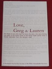 LOVE, GREG & LAUREN ~ Greg Manning ~ HUSBAND'S ACCOUNT OF HIS WIFE RECOVERY