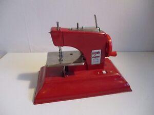 Toy Child's sewing machine Electric Kraemer Little Modiste metal