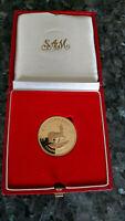 1992 Krügerrand, Gold, 1 Unze,  Proof , nur 2100 Münzen weltweit