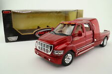 Motor Max 1:24 Scale; Ford F-650 Super Crewzer Pickup; Met Red; Excellent Boxed