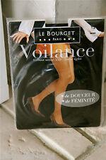 medias voilance satén 15D visón LE BOURGET nuevo en caja GAMA SUPERIOR T 1