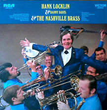 HANK LOCKLIN & DANNY DAVIS & NASHVILLE BRASS - RCA LBL - 1970 LP