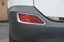 ABS Chrome Rear Fog Light Lamp Cover Trim For Toyota RAV4 2013 2014 2015