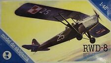 Kopro 1/48 RWD-8 Polish High Wing Trainer Vintage Model Kit 2410