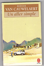 Un Aller Simple - Didier Van Cauwelaert . comme neuf. Rozier-Gaudriault dessin