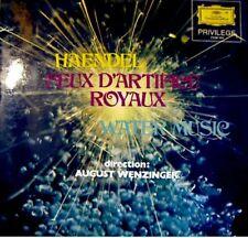 AUGUST WENZINGER feux d'artifice/water music HAENDEL LP