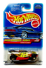 Hot Wheels Mega Graphics Turbo Flame Swisher Team Collector #975