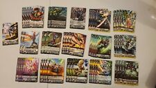 Cardfight Vanguard Megacolony Complete Deck Standard V-EB09 The Raging Tactics
