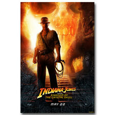 INDIANA JONES and the TEMPLE of DOOM Action Adventure Movie Silk Poster 003